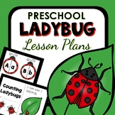 Ladybugs Theme Preschool Lesson Plans -Ladybugs Activities