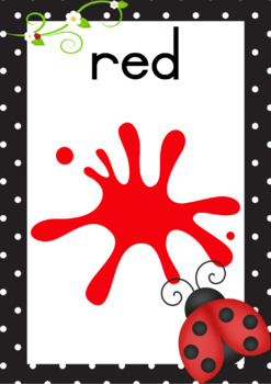 Ladybugs Themed Classroom Resource Set