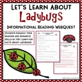 Ladybugs Webquest - Internet Informational Reading Research Activity