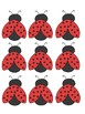 Ladybugs and Bumblebee Labels