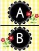 Ladybugs and Daisies Word Wall Headers