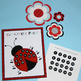 Ladybugs and Dots Compliment Poster