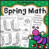 Kindergarten Spring Math Activities