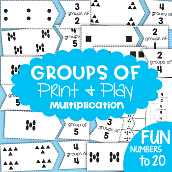 Multiplication Games Printable Teaching Resources | Teachers Pay ...