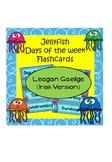 Laethanta na Seachtaine (Jellyfish/Ocean theme)