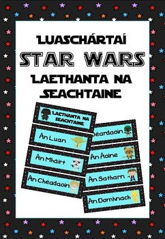 Laethanta na Seachtaine - Star Wars