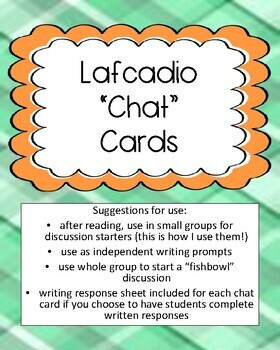 Lafcadio: The Lion Who Shot Back Discussion Card Set