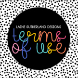Laine Sutherland Designs Terms of Use