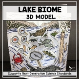 Lake Biome Model  - 3D
