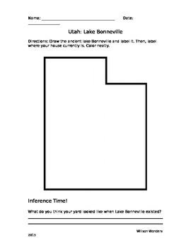 Lake Bonneville Worksheet