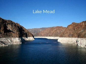Lake Mead - Power Point - history facts information drough