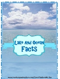 Lake & Ocean facts flashcards