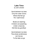 Lake Time (poem)