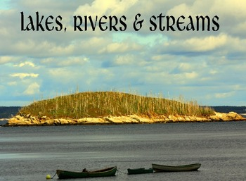 Lakes, Rivers & Streams.....(photos for commercial use)