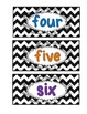 Lakeshore Caddy {Chevron} Numbered Labels