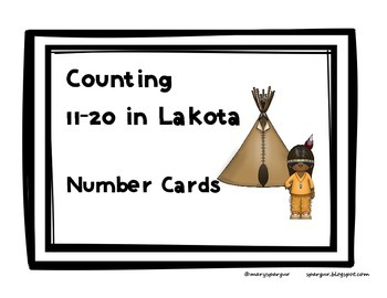 Lakota Numbers 11-20