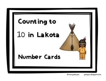 Lakota Numbers to 10