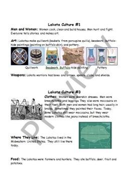 Lakota Sioux Culture Centers