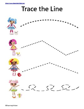 Lalaloopsy Learning Activity Pack