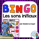 Son initial:  French Beginning Sounds Bingo Game
