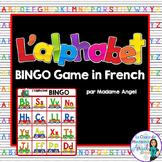 L'alphabet:  French Alphabet Bingo Game