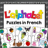 L'alphabet:  French Alphabet Puzzles