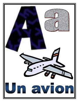 L'alphabet / French alphabet posters