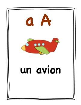 L'alphabet : affiches et activités pour centre