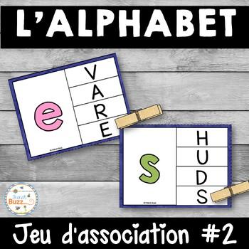 French alphabet - jeu d'association #2