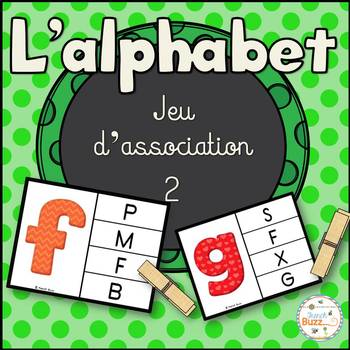 French alphabet - jeu d'association #2