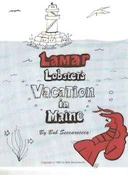 Lamar Lobster Coloring Book