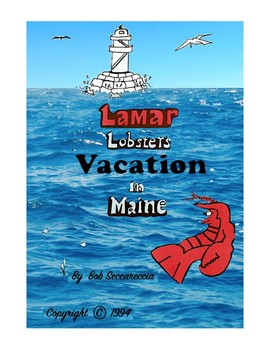 Lamar Lobster Read along and coloring book supplement Bundle