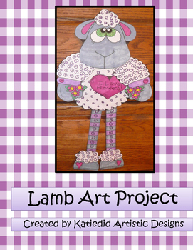 Spring Easter Lamb Craft