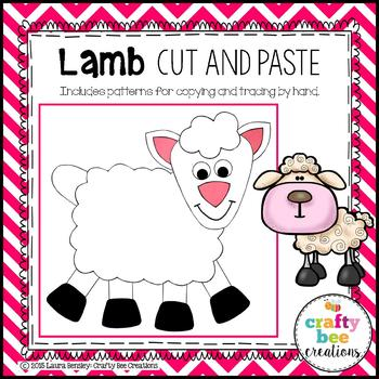 Lamb Cut and Paste