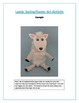 Lamb: Spring/Easter Art Activity