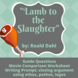 Lamb to the Slaughter: Ethos, Pathos, and Logos