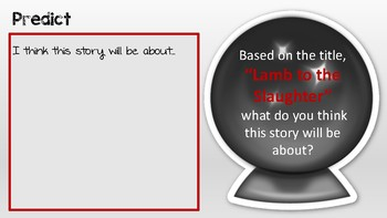 Lamb to the Slaughter Presentation/Workbook