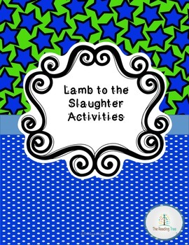 Lamb to the Slaughter Activity Pack