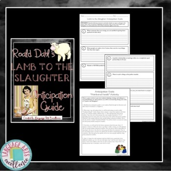 Lamb to the Slaughter Anticipation Guide & Lesson Plan