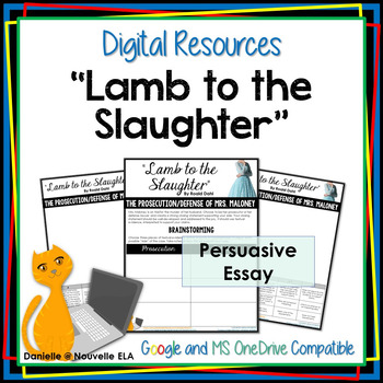 Lamb to the Slaughter Essay - Digital Resource