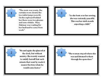 Lamb to the Slaughter - Roald Dahl - Theme Task Cards