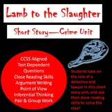 Lamb to the Slaughter--Short Story Murder Detective Work--