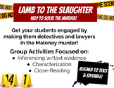 Lamb to the Slaughter - TEKS Aligned
