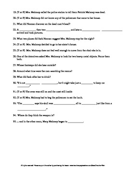 Lamb to the Slaughter by R Dahl Guided Reading Worksheet Wordsearch & Crossword