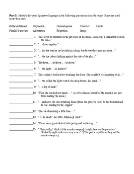 lamb to the slaughter worksheets