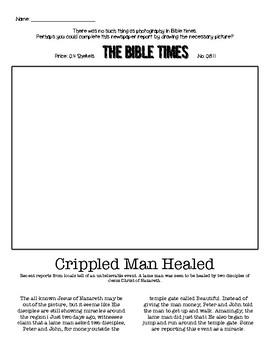 Lame Man Newspaper Article