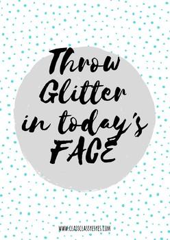 Lámina Glitter