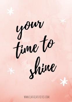 Lámina Shine