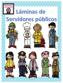 Láminas de los servidores públicos
