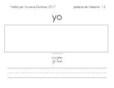 Láminas de trajabjo para 60+ palabras de uso frecuente